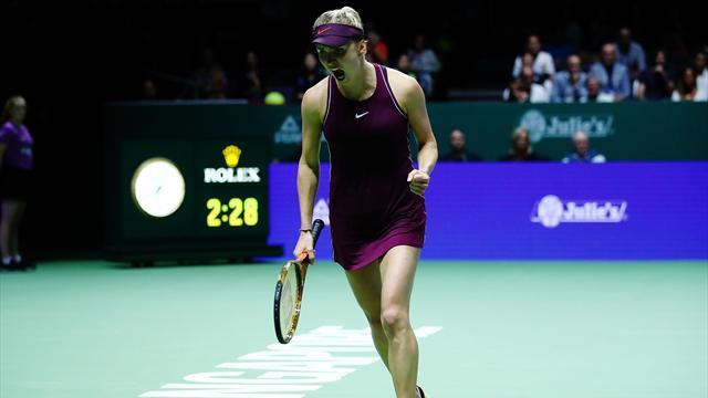 Svitolina remporte le premier grand tournoi de sa carrière