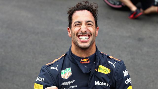 Ricciardo bouscule la hiérarchie