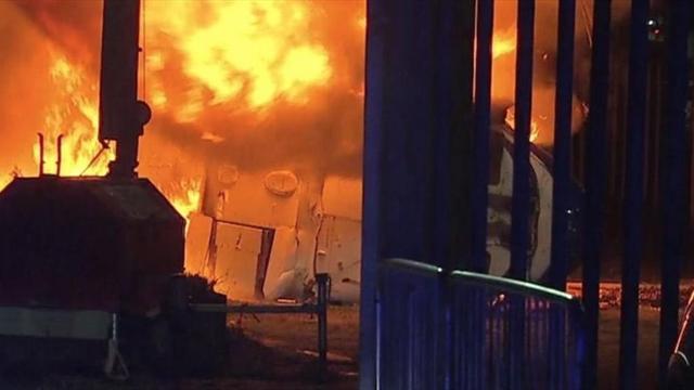 Leicester, l'elicottero con il presidente precipita ed esplode fuori dallo stadio