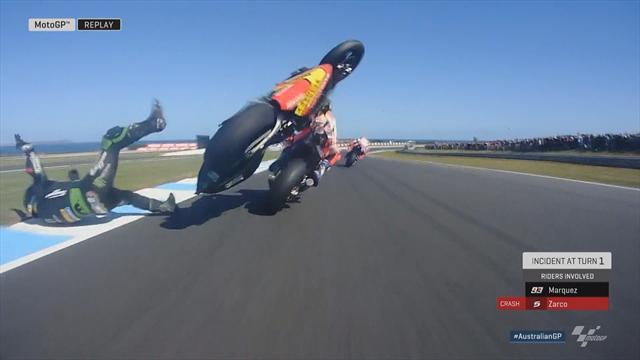 Weltmeister raus: Crash bringt Márquez um alle Chancen