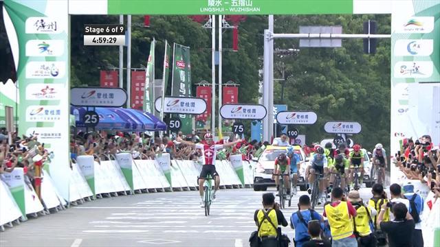 Ronde van Hainan | Raymond Kreder in de leiderstrui na zware bergrit