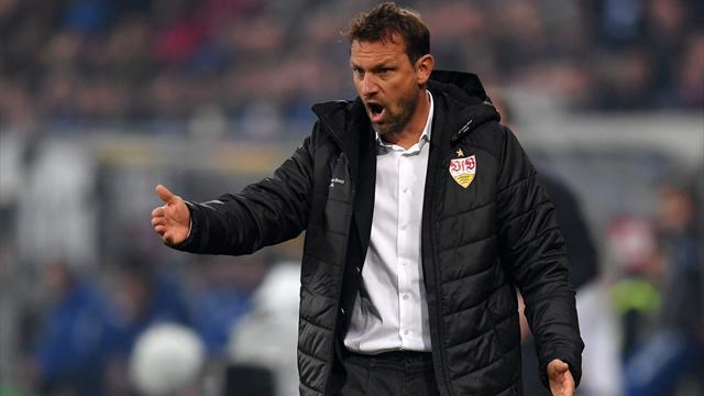 Weinzierl bleibt Stuttgart-Trainer - zumindest gegen Leipzig