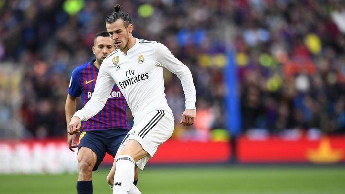 Gareth Bale y Jordi Alba en Barcelona Real Madrid Clásico