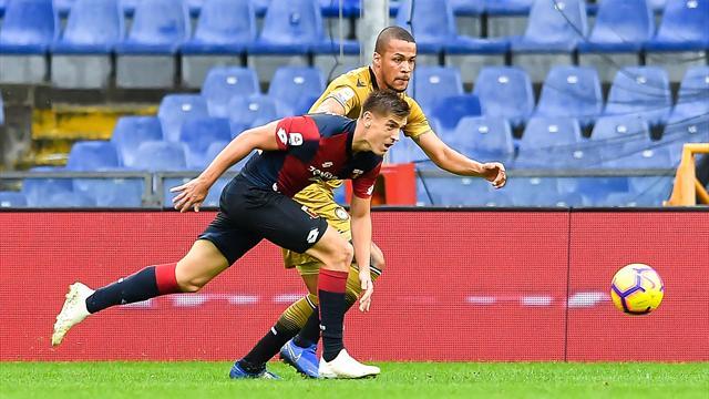 L'Udinese lascia a secco Piatek e si prende un punto a Genova
