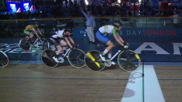 Australia clinch women's madison victory