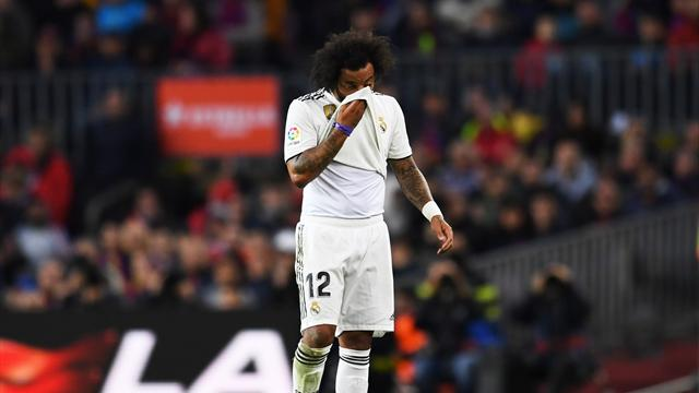 Marcelo sur le carreau, l'hécatombe continue au Real