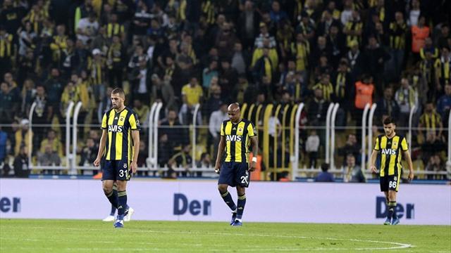 Fenerbahçe'de kötü gidiş devam ediyor