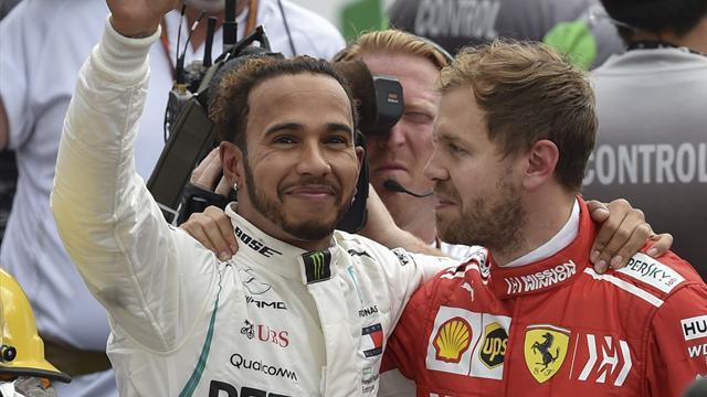Bonus-malus : Hamilton laborieux, Vettel classieux