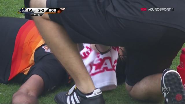 Zlatan inblandad i otäck krock - Garcia utbytt