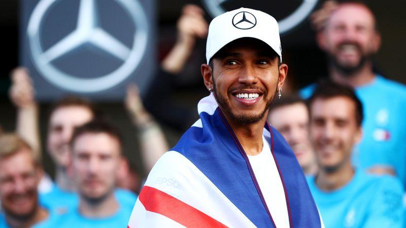Lewis Hamilton (Mercedes) au Grand Prix du Mexique 2018