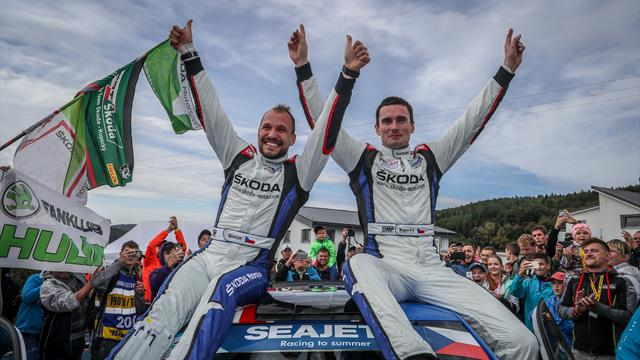 From European champions to world champions: ERC salutes Kopecký and Dresler