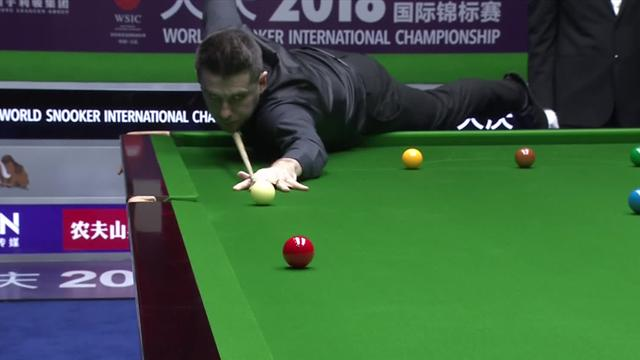 Selby on fire: Drittes Century gegen Doherty