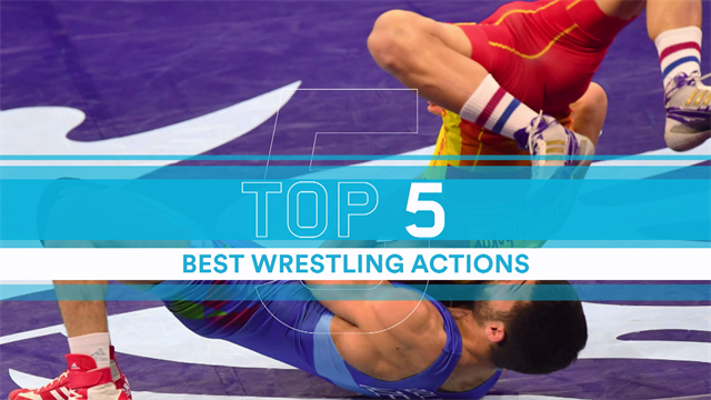 Top 5: Wrestling moves from World Championships in Budapest