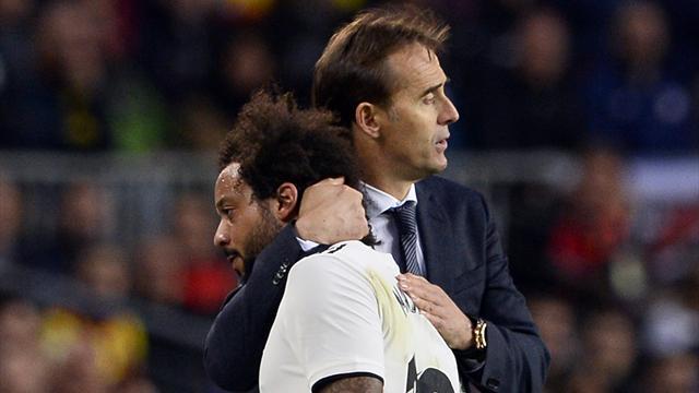 Marca Лопетеги провел утреннюю тренировку Реала хотя футболисты не ожидали его появления