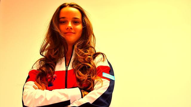 N°1 juniors à 17 ans et fan de Serena, voici Clara Burel