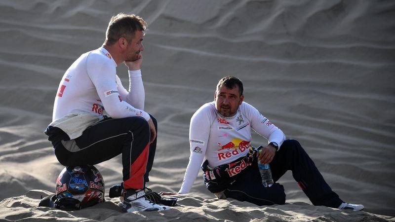 Dakar 2018 : La galère, et l'abandon du duo Loeb-Elena.