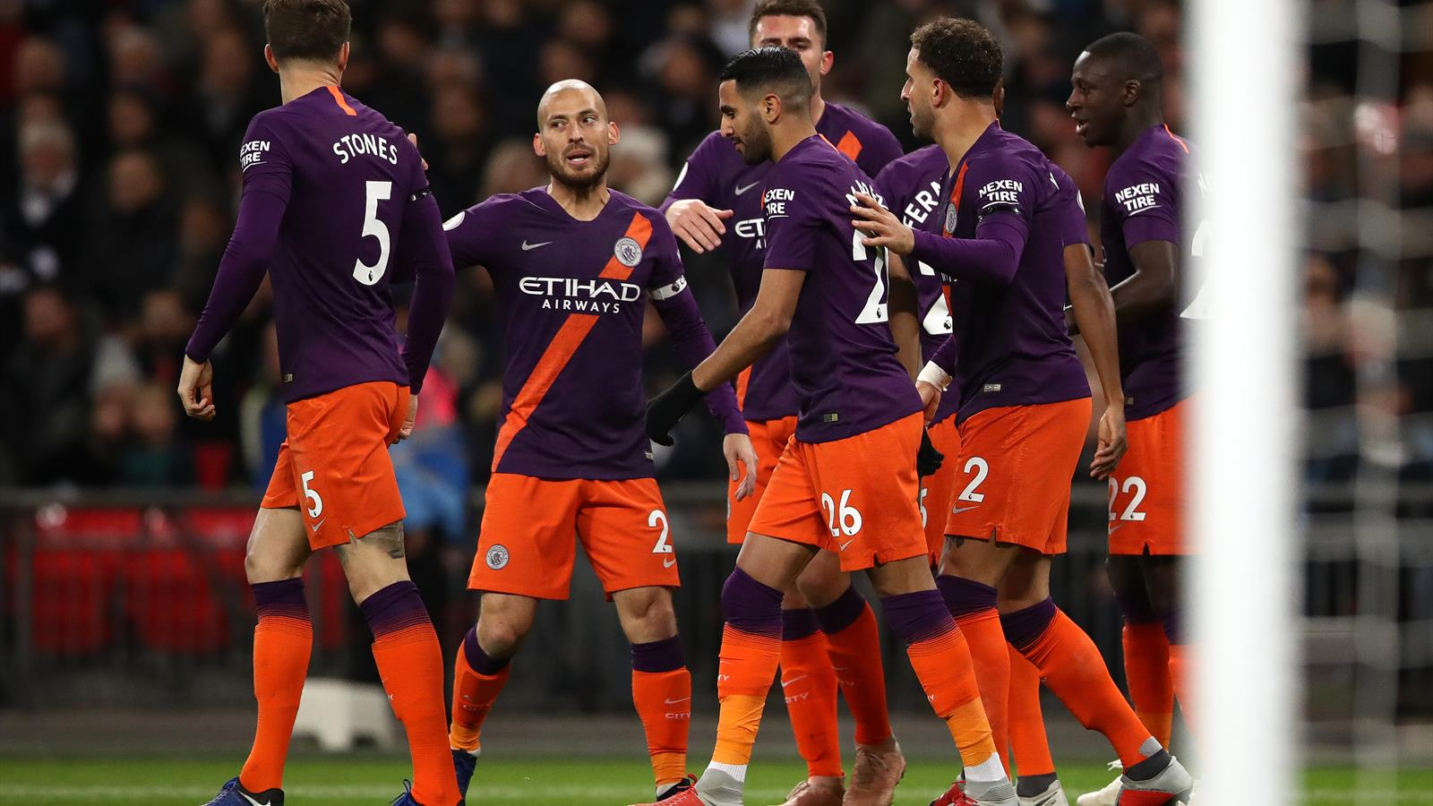 Manchester City back on top of Premier League after win at Tottenham - Football - Eurosport Asia