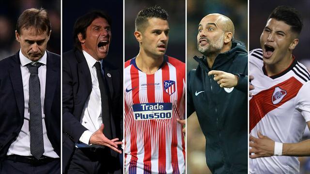 Lopetegui, Conte, Vitolo, Guardiola y Exequiel Palacios, los nombres del día