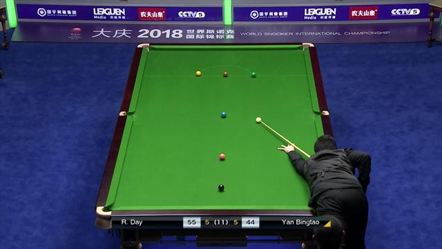 Yan Bingtao completes great escape to sink Day