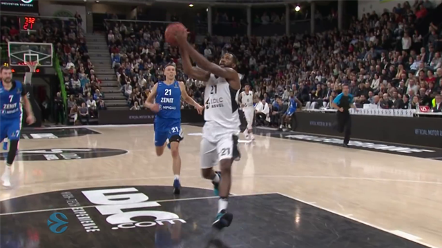 EuroCup highlights: LDLC Asvel Villeurbanne v Zenit St Petersburg
