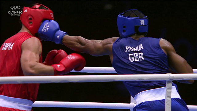 Olympic Channel : Anthony Joshua Road to Olympic gold