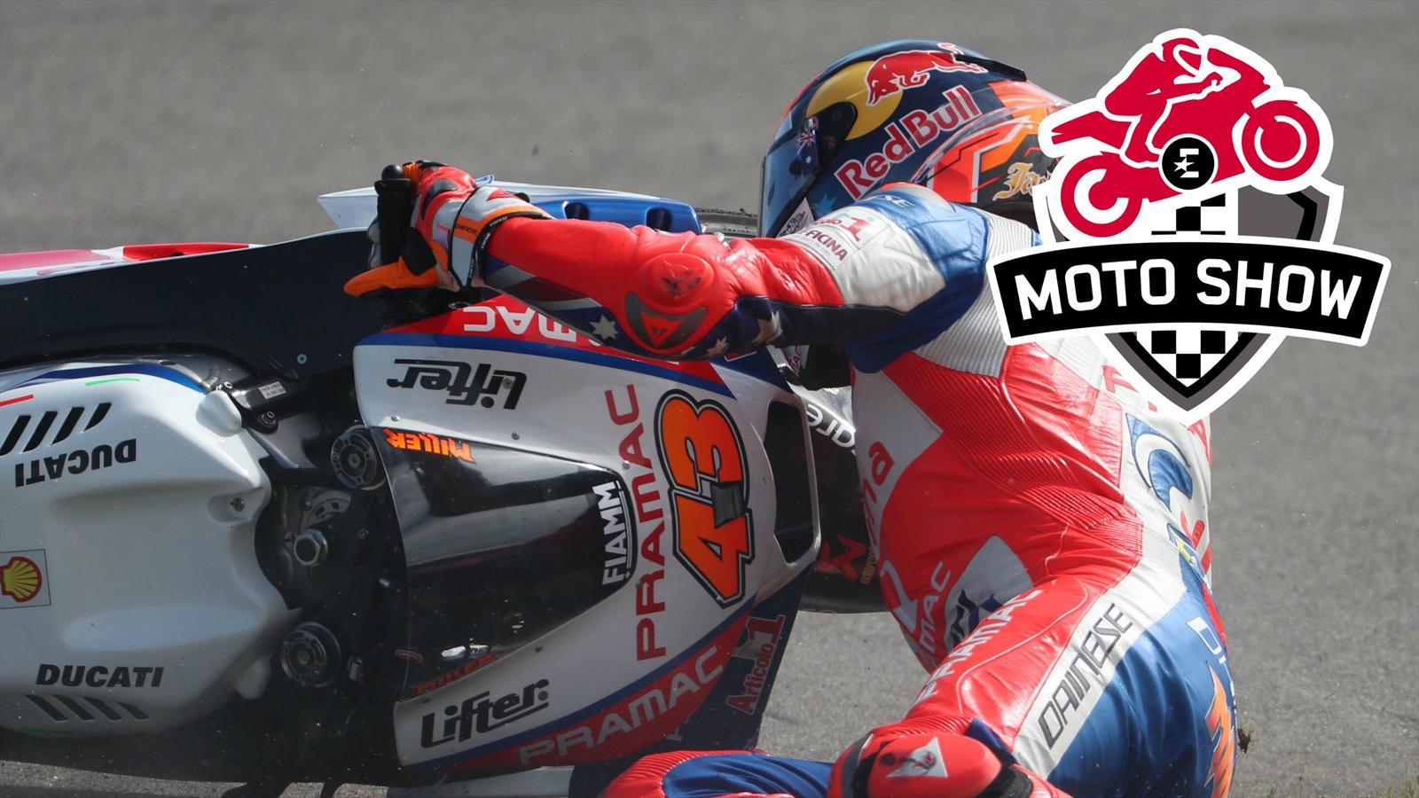 """VIDÉO - MOTOGP - """"Le crash de Zarco ? On ne peut pas reprocher à Marquez de ne pas avoir de rétroviseurs"""" - Grand Prix d'Australie - Video Eurosport"""