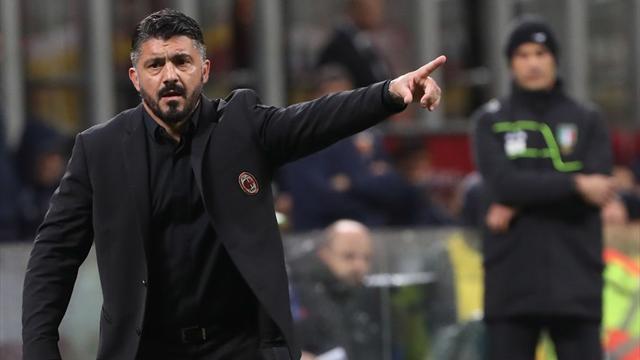 """Gattuso: """"Higuain non è al meglio, ma contro la Juve ci sarà"""""""