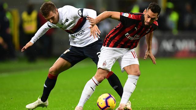 Serie A, Genoa-Milan sarà anticipata alle ore 15