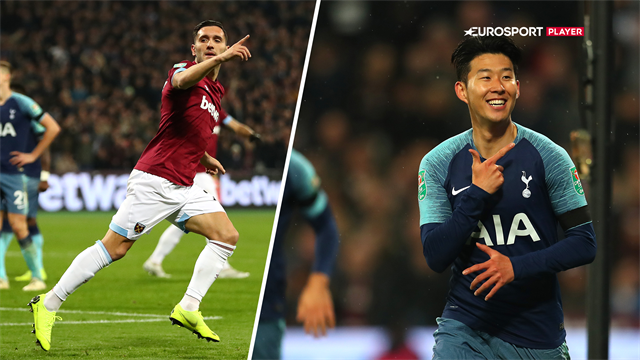 Highlights: Stensikre Son sikrede Tottenham videre avancement i Carabao Cuppen