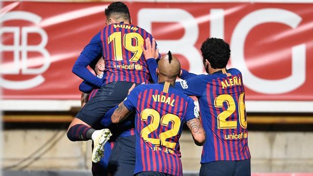 Il Barcellona la sfanga al 91' con Lenglet: 1-0 alla Cultural Leonesa di Segunda B