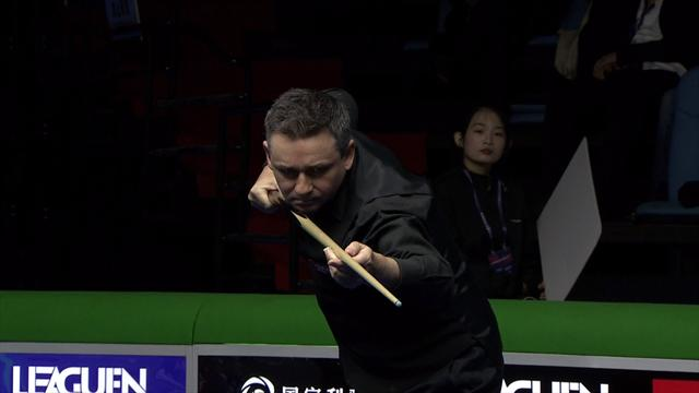 Alan 'Angles' McManus suffers cue hell in China