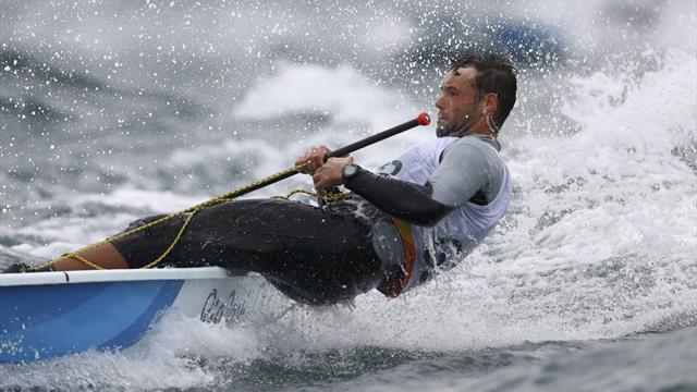 Widrige Windverhältnisse bei der Segel-WM: Buhl wahrt Medaillenchance