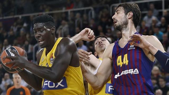 🏀 El Barça aplasta al Maccabi y suma su tercera victoria consecutiva en Euroliga (74-58)