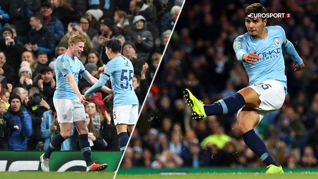 Highlights: Manchester City ekspederede let Fulham ud af Carabao Cup'en