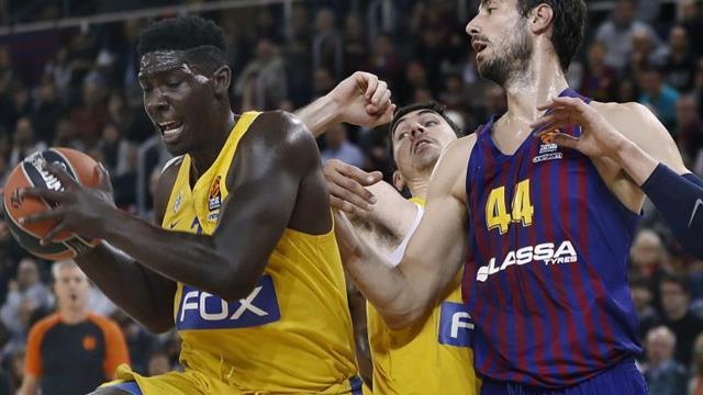 74-58. El Barcelona lo borda en la segunda parte y sigue creciendo en Europa