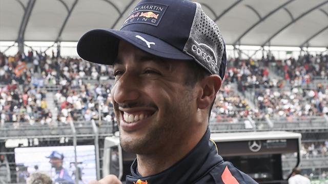 Ricciardo says farewell with final Red Bull visit