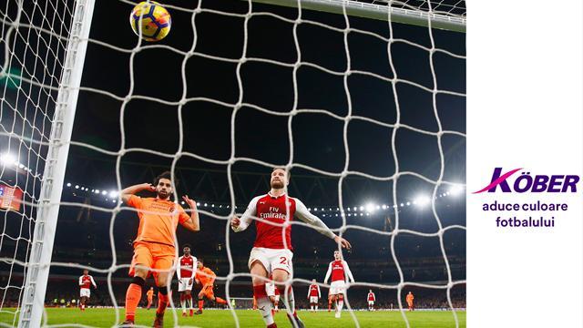 Premier League: Cinci meciuri din etapa a 11-a sunt LIVE pe Eurosport 1
