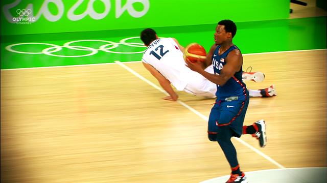 Olympic Channel: Cinco rompedores de tobillos en el baloncesto olímpico