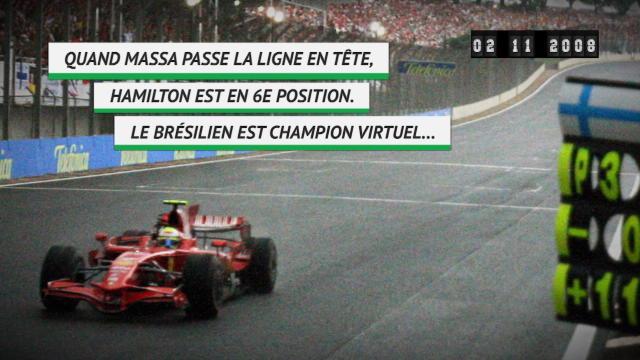 Il y a 10 ans - Lewis Hamilton remportait son premier titre de champion du monde
