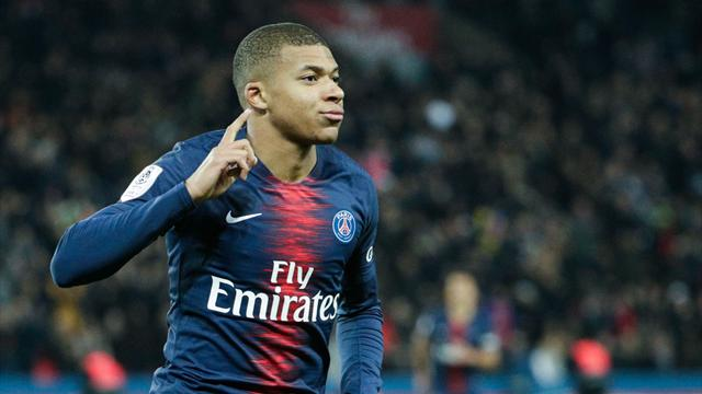 WATCH: Mbappe scores lovely first-time finish on Neymar through ball