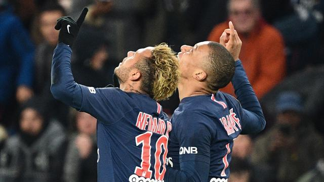 PSG create history as Mbappe and Neymar see off Lille