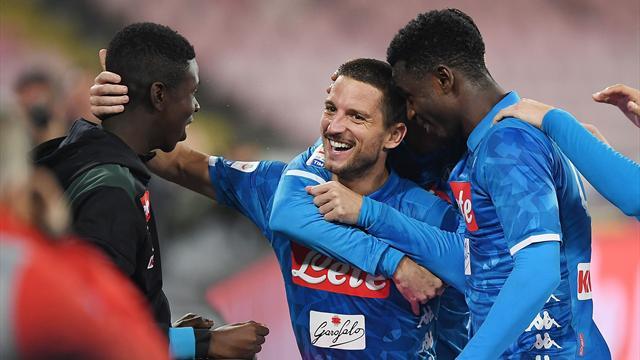 Naples et Mertens s'éclatent avant le PSG