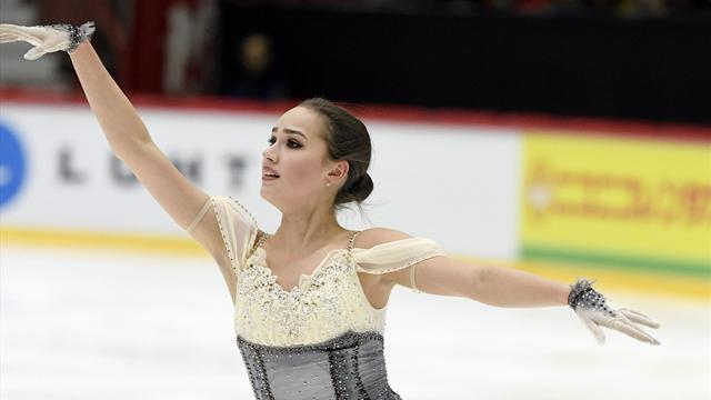 Zagitova leads the way in Helsinki