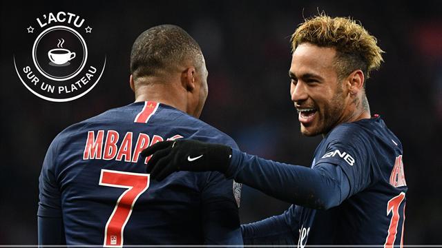 Neymar-Mbappé, Federer-Djokovic, Curry-Durant : l'actu sur un plateau
