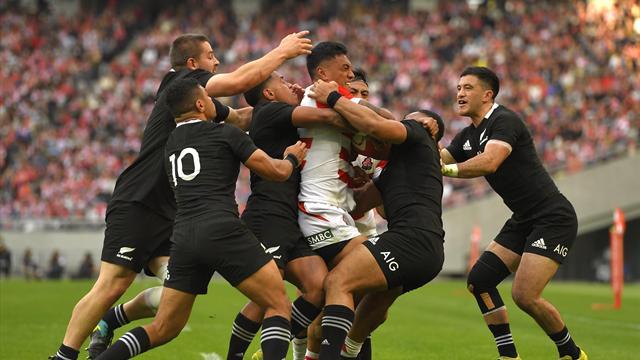 Giappone-Nuova Zelanda 31-69: All Blacks dominanti a Tokyo