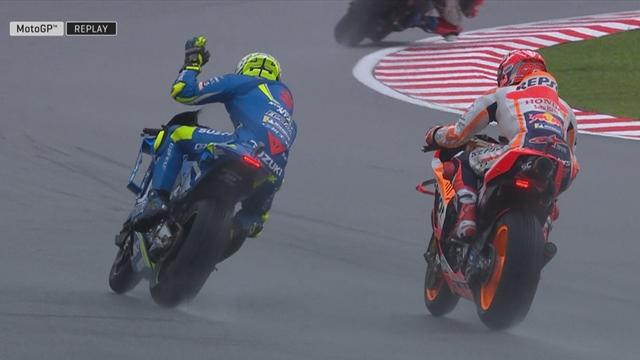 GP Maleisië: Gridstraf! Marquez hindert Iannone en verliest pole...