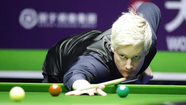Imperious Robertson whitewashes Vafaei, to face Bingham in final