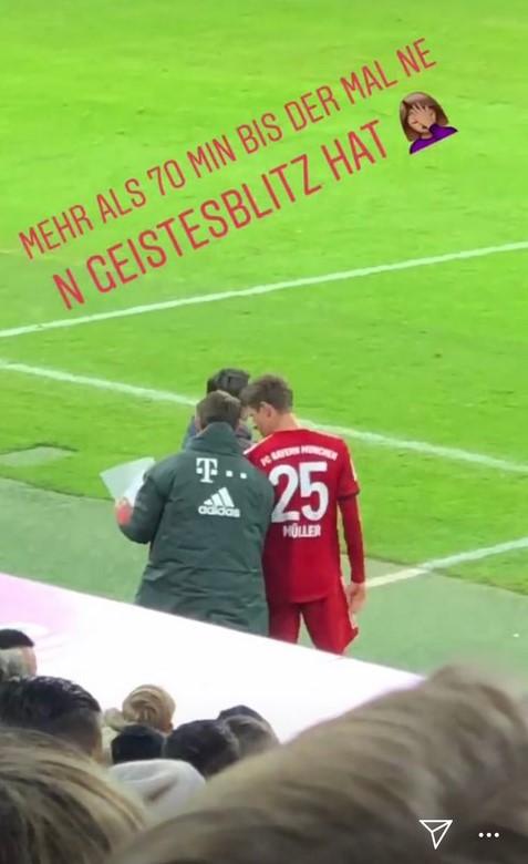 Lisa Müller stichelt gegen Niko Kovac (Quelle: instagram.com/lisa.mueller.official)