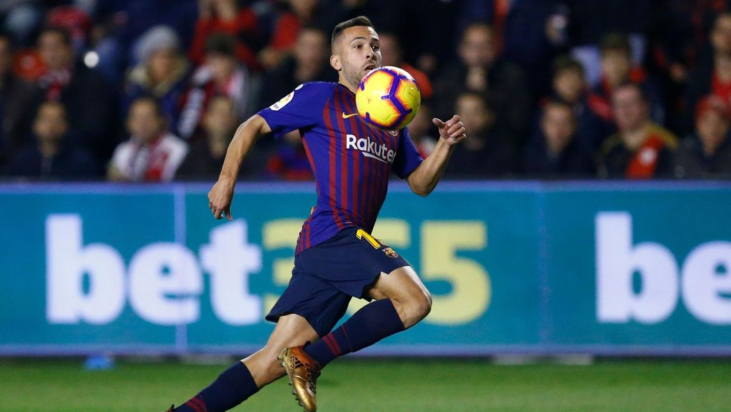 Football News Barcelona S Jordi Alba Recalled To Spain Squad