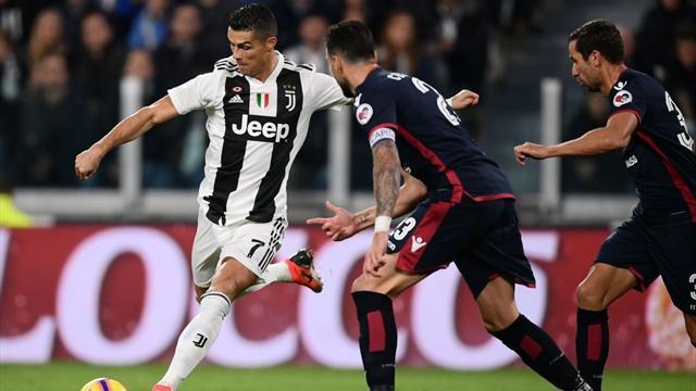 Le pagelle di Juventus-Cagliari 3-1: Ronaldo sempre utile, Bradaric sciagurato